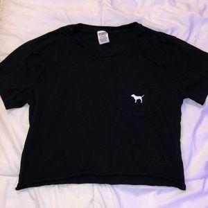 PINK black tee shirt